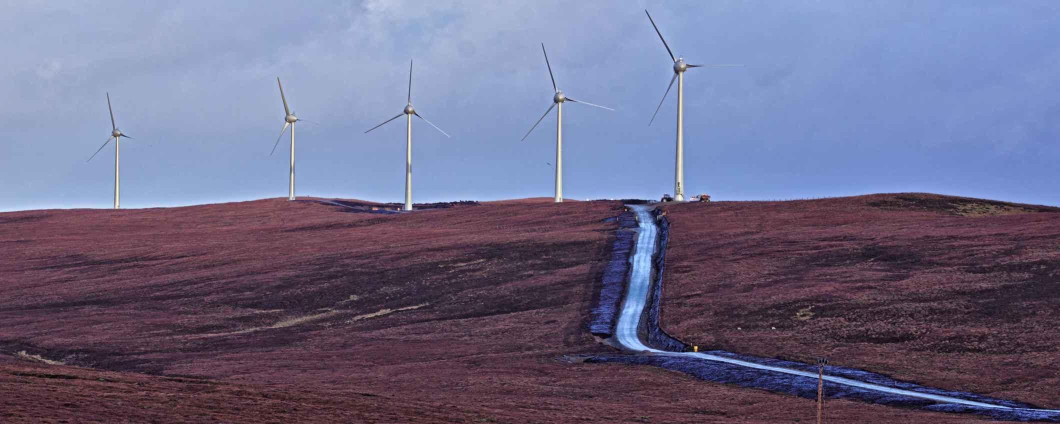 Garth Wind Limited fait le bonheur de la communauté de l'île de Yell