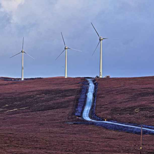 Le nouveau vent de Garth Wind souffle au nord de l'Écosse