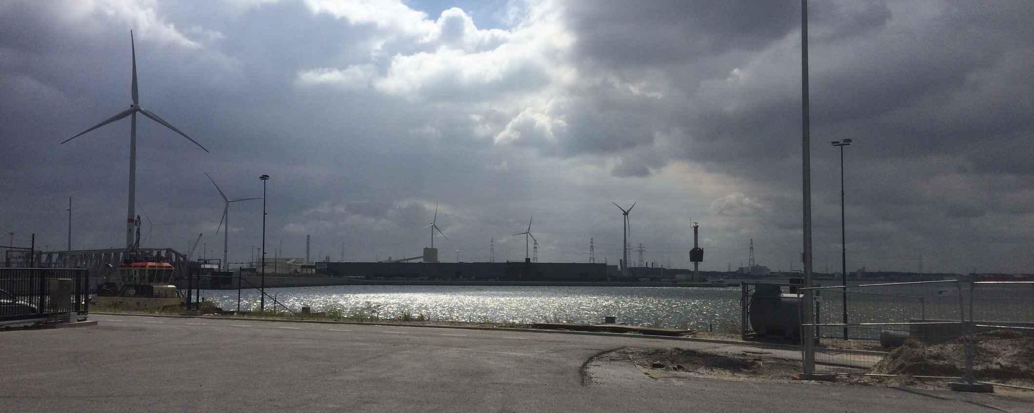 Cinq éoliennes supplémentaires sur la rive du port d'Anvers