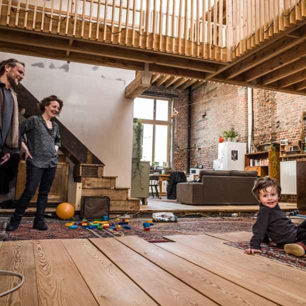 Op bezoek in de creatieve woondroom van Marine en Nicolas