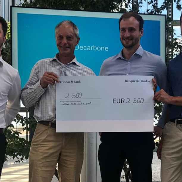 """La Banque Triodos remet le dixième """"Sustainable Impact Award"""" pendant Greenlab"""