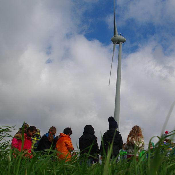Een Burgerproject: Hernieuwbare energie opwekken met een windmolenpark