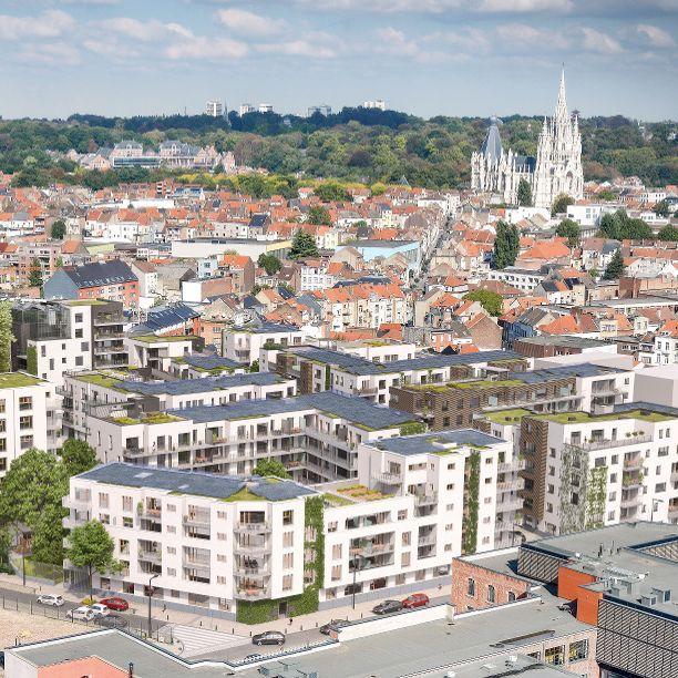 Tivoli GreenCity: een energiezuinige wijk in Brussel